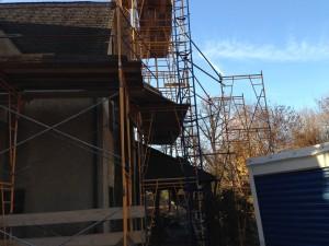 stucco removal b