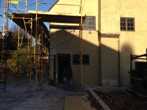 stucco removal f